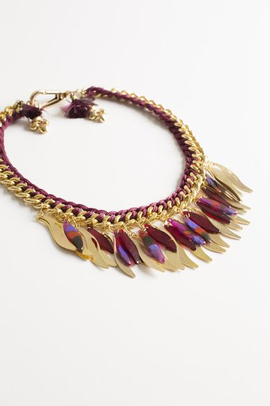 Collar-Metallic-Feather