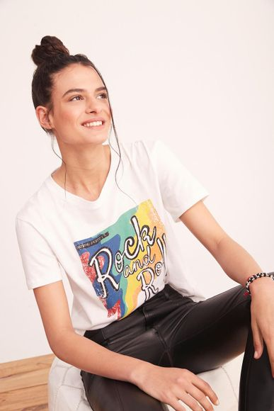 Playera-Disco-Rock-Rapsodia