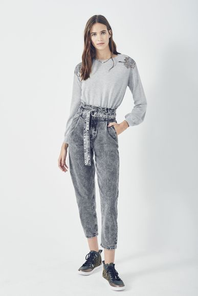 Jeans-Mounty-Noir-Rapsodia